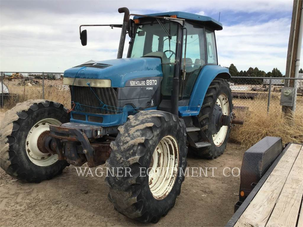 Ford / New Holland 8970, tratores agrícolas, Agricultura