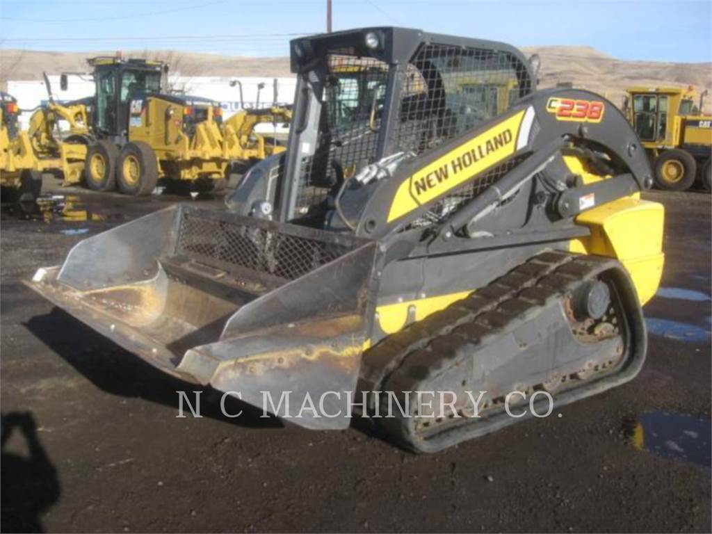 Ford / New Holland C238, Mini incarcator, Constructii