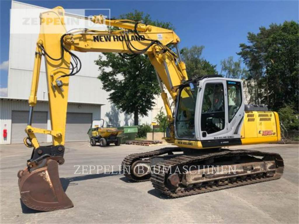 Ford / New Holland E195, Crawler Excavators, Construction