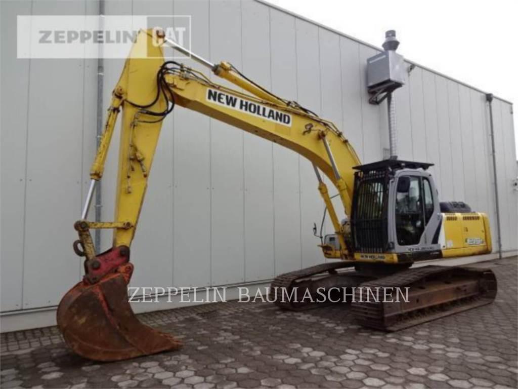 Ford / New Holland E215B, Escavadoras de rastos, Equipamentos Construção