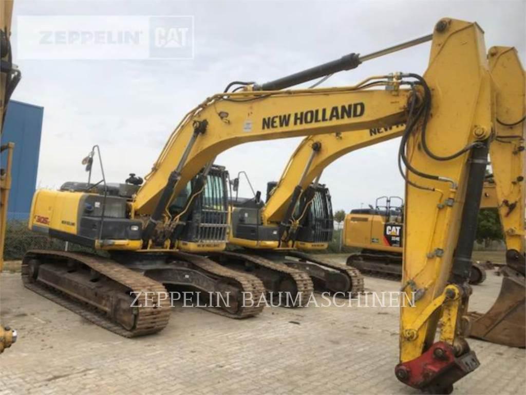 Ford / New Holland E305C, Excavadoras de cadenas, Construcción