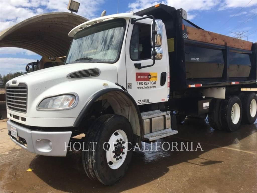 Freightliner DUMP TRK14, dump trucks, Transport