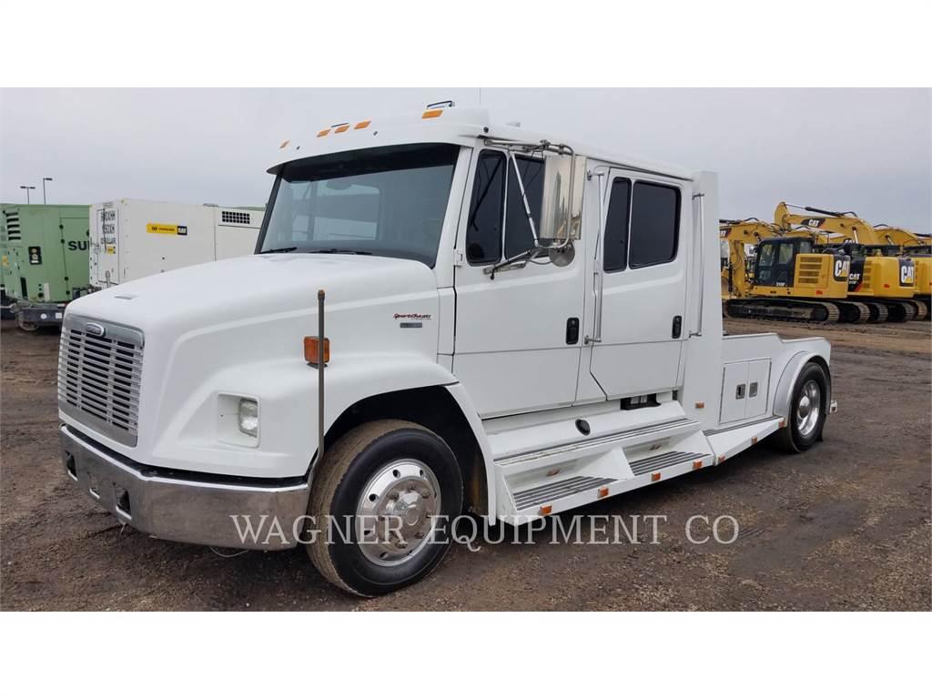 Freightliner FL70, ciężarówki drogowe, Transport
