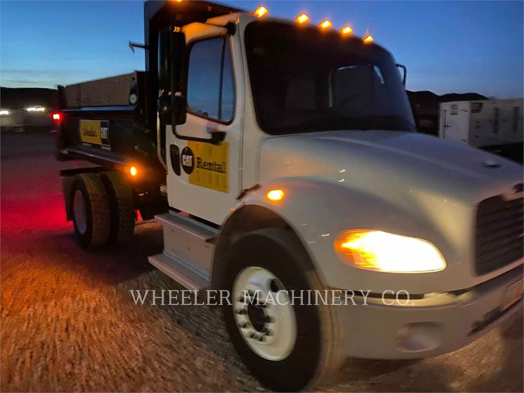 Freightliner (OBSOLETE) DUMP 6 YD, dump trucks, Transport