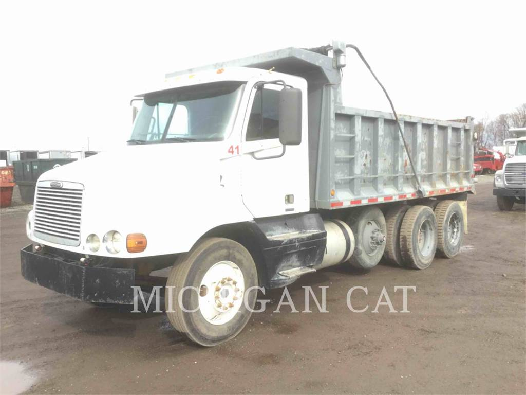 Freightliner TRI-AXLE DUMP, on-highway trucks, Vervoer