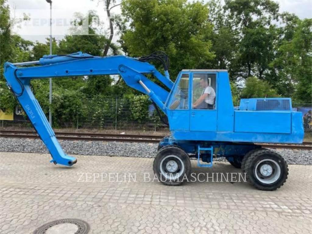 Fuchs F60, wheel excavator, Construction