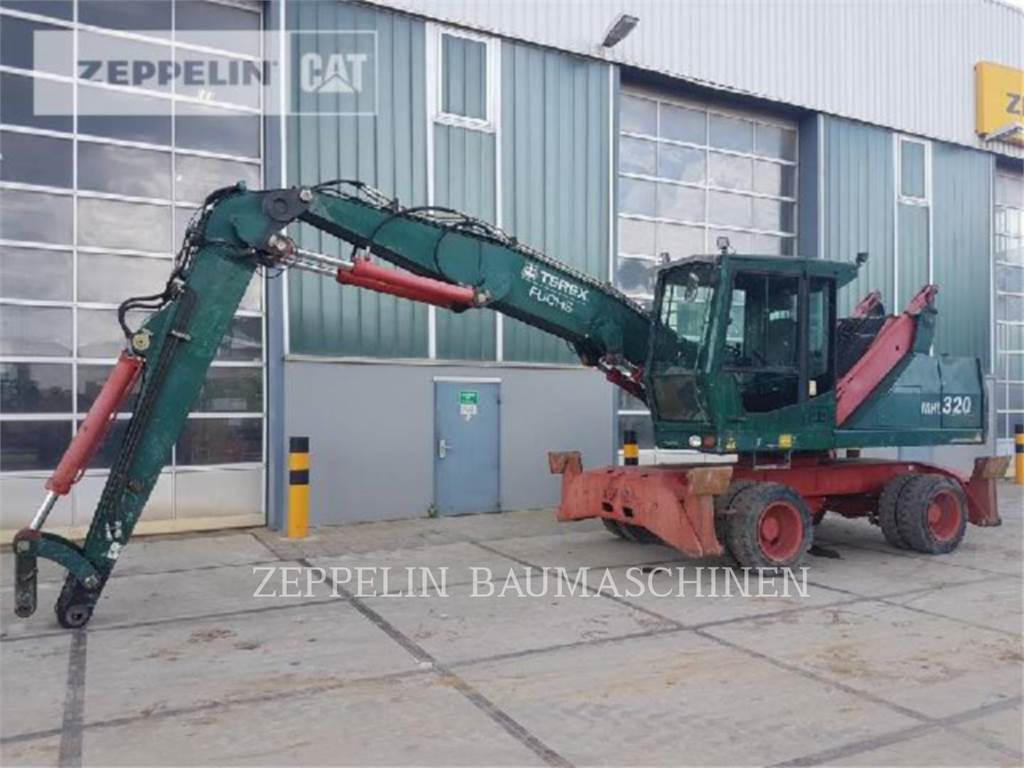 Fuchs MHL320, wheel excavator, Construction