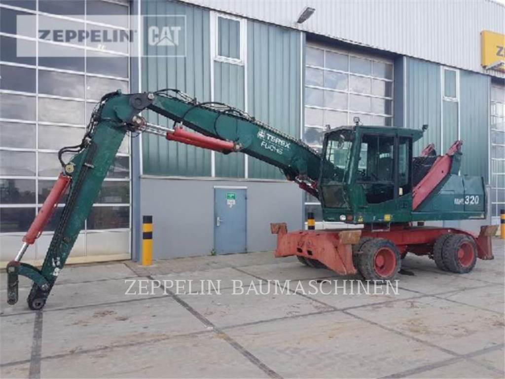 Fuchs MHL320, excavadoras de ruedas, Construcción