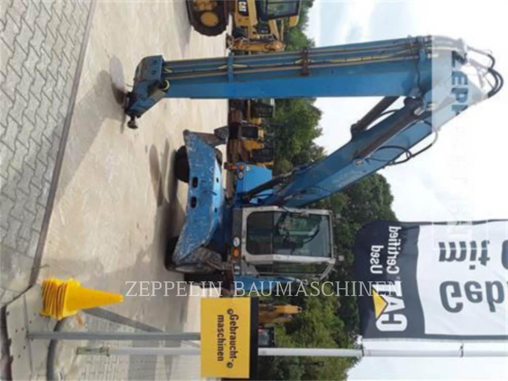 Fuchs MHL320, wheel excavator, Construction