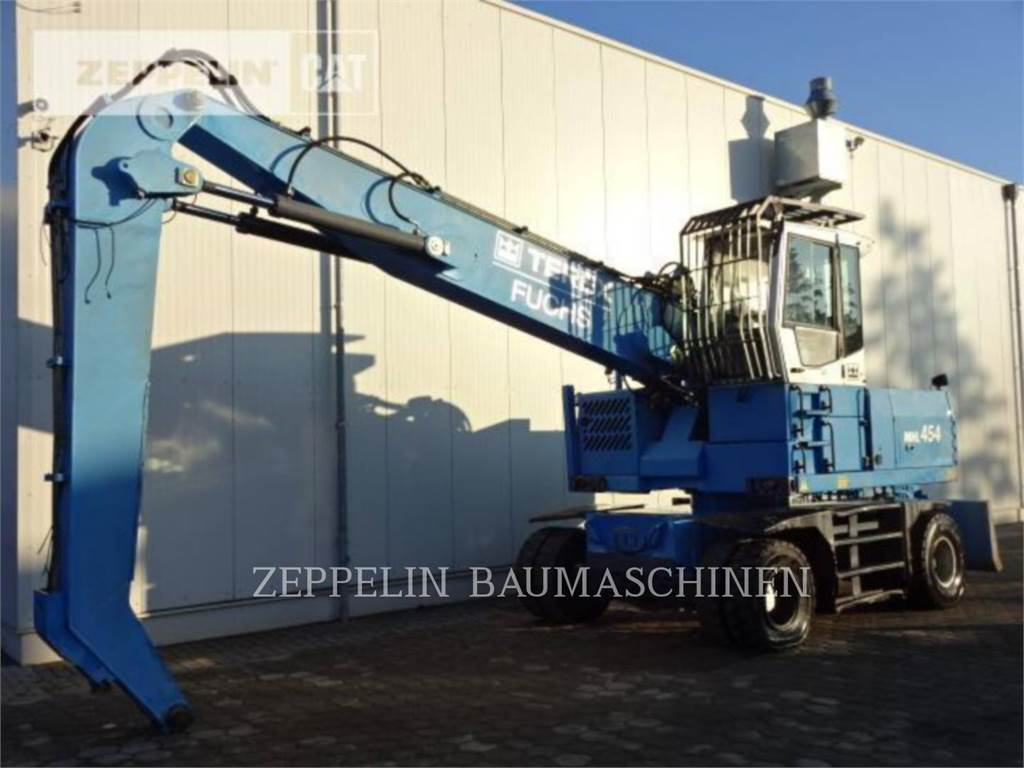 Fuchs MHL454, wheel excavator, Construction