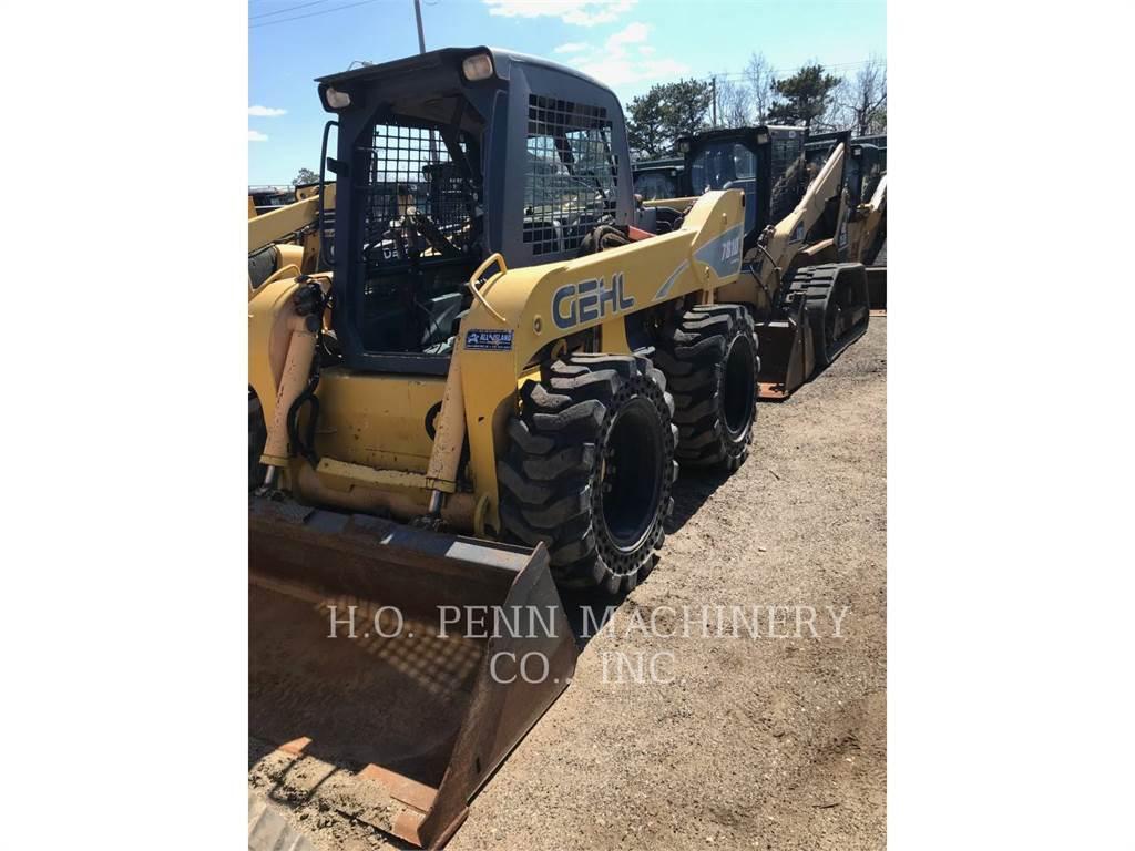 Gehl 7810, Carregadoras de direcção deslizante, Equipamentos Construção