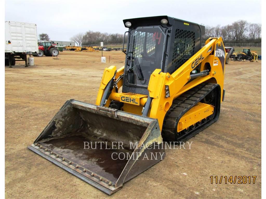 Gehl RT210, Chargeuse compacte, Équipement De Construction
