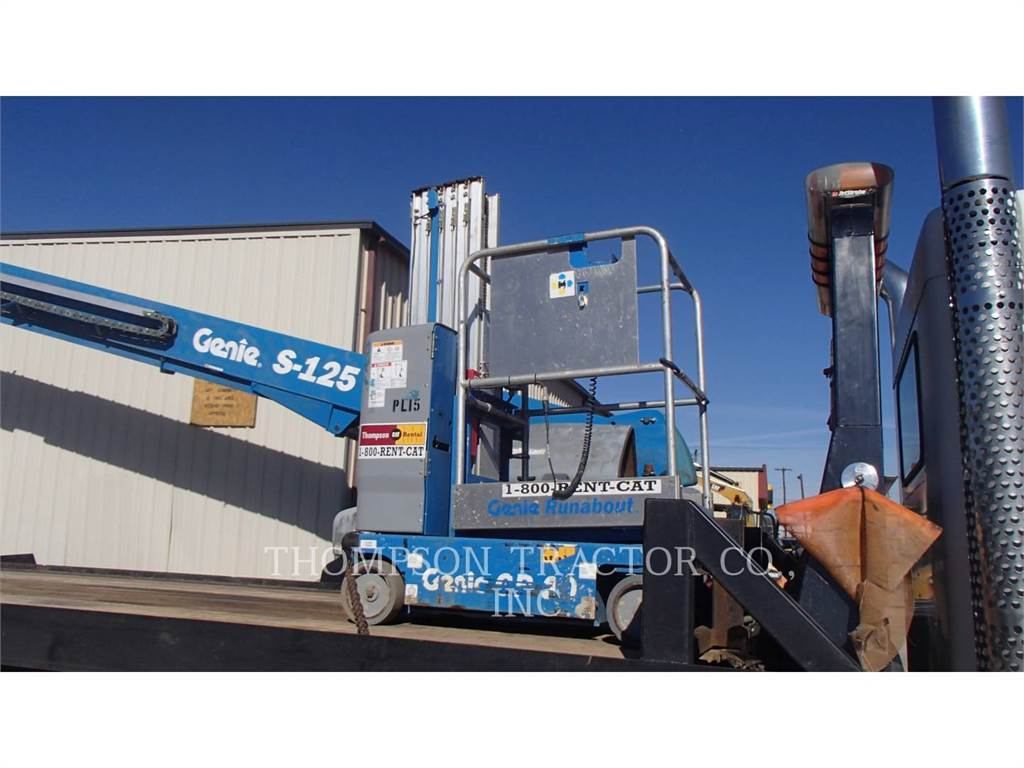 Genie 20 PERSONNEL LIFT, Other lifts and platforms, Construction
