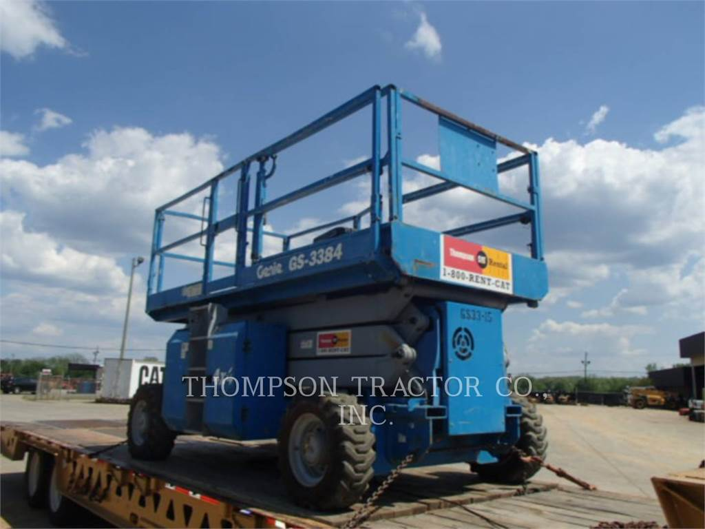 Genie 33 GAS SCISSOR, lift - scissor, Construction