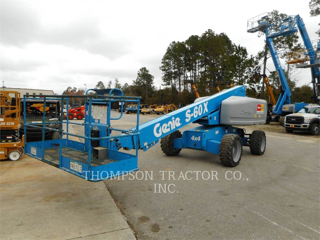Genie 60 4WD MANLIFT, Articulated boom lifts, Construction