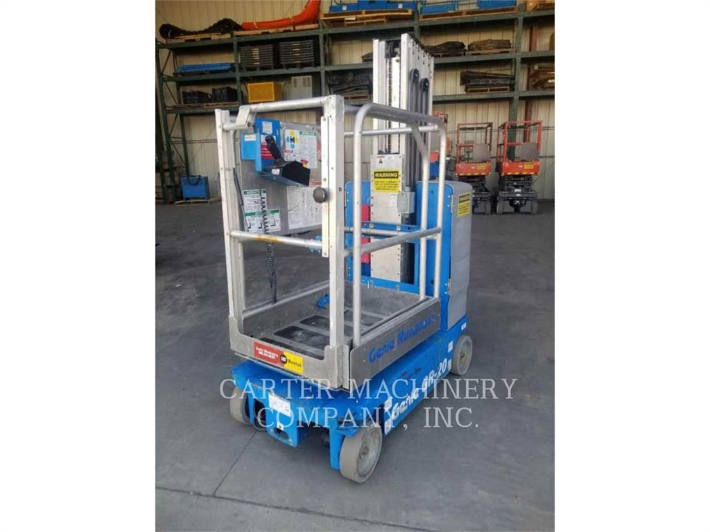 Genie GR20, lift - scissor, Construction