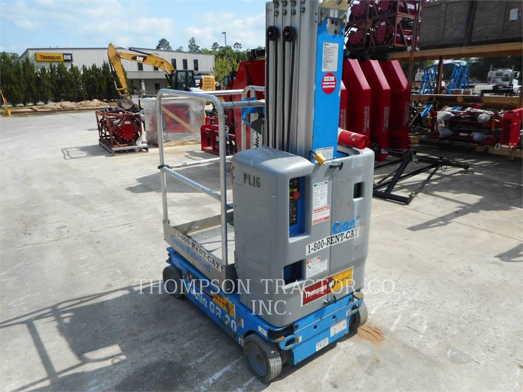 Genie GR20G2, Other lifts and platforms, Construction