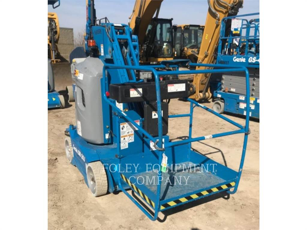 Genie GR26J, lift - scissor, Construction