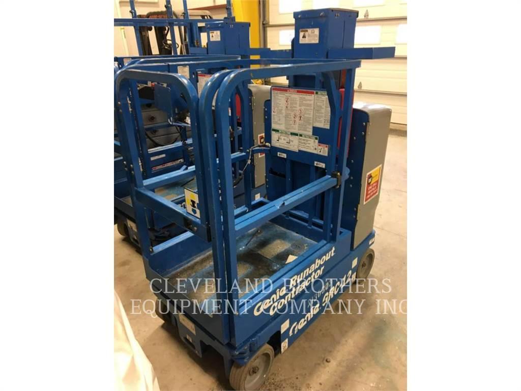 Genie GRC-12, lift - scissor, Construction