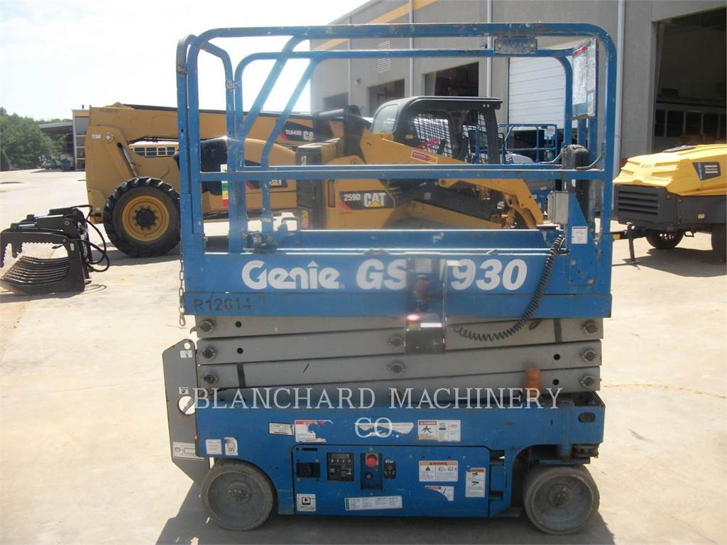 Genie GS1930, lift - scissor, Construction