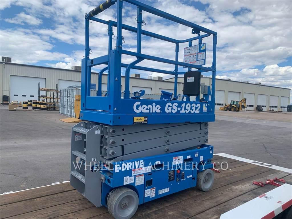 Genie GS1932, lift - scissor, Construction