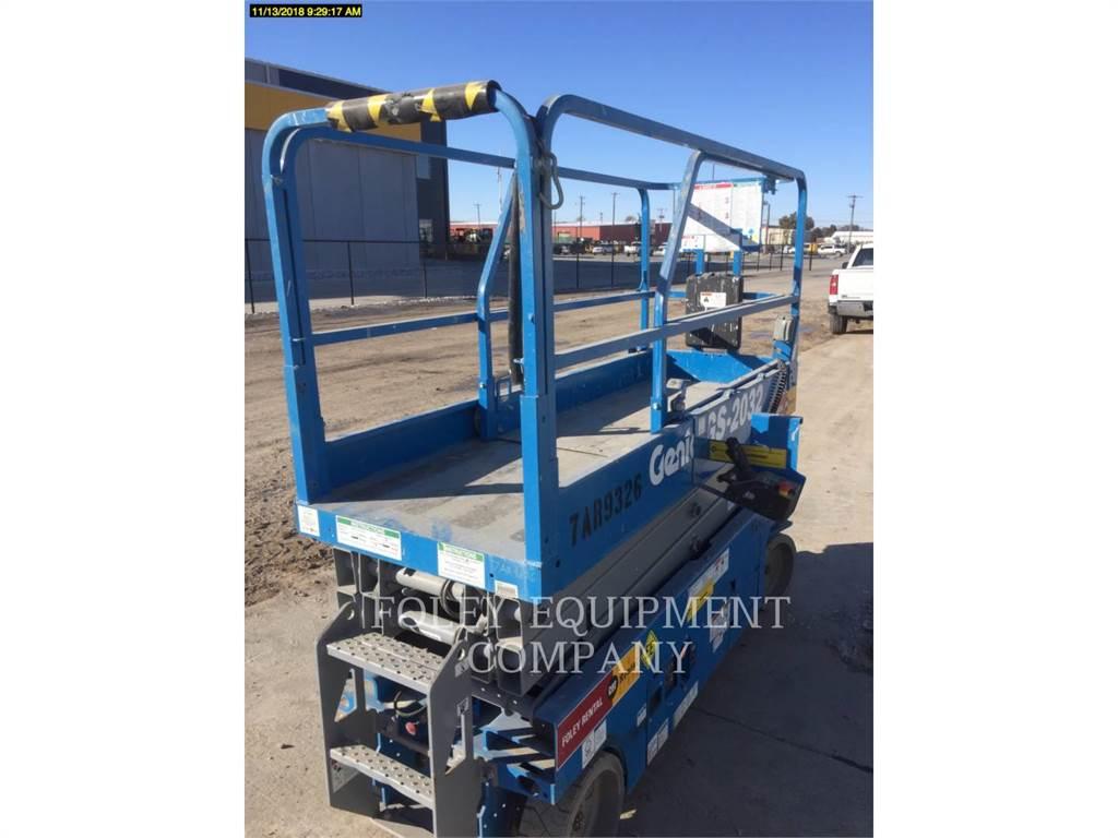 Genie GS2032EE, scheren-hubarbeitsbühne, Bau-Und Bergbauausrüstung