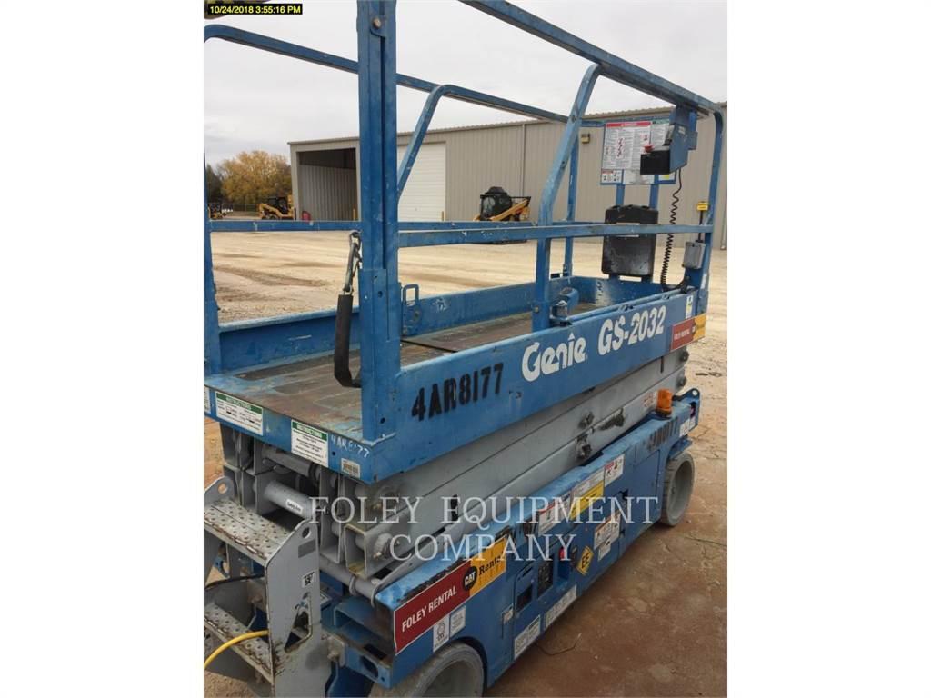 Genie GS2032EE, lift - scissor, Construction