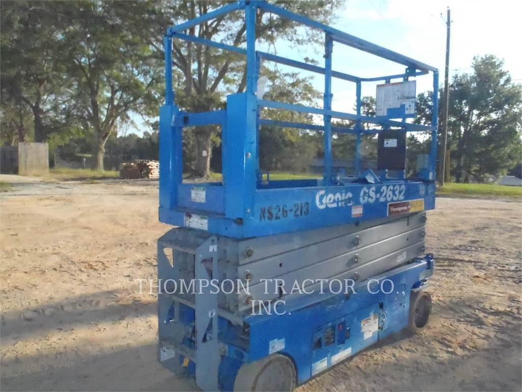 Genie GS2632, elevador - tesoura, Equipamentos Construção
