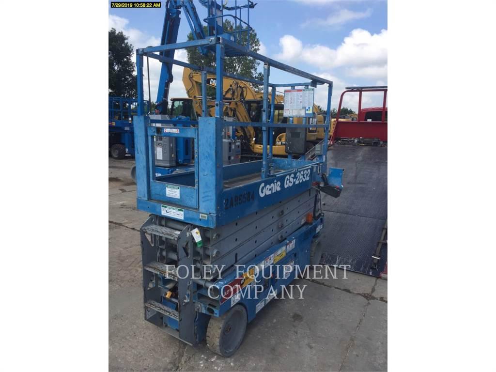 Genie GS2632, lift - scissor, Construction