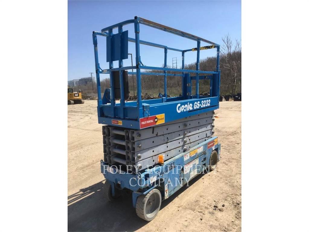 Genie GS3232O, lift - scissor, Construction