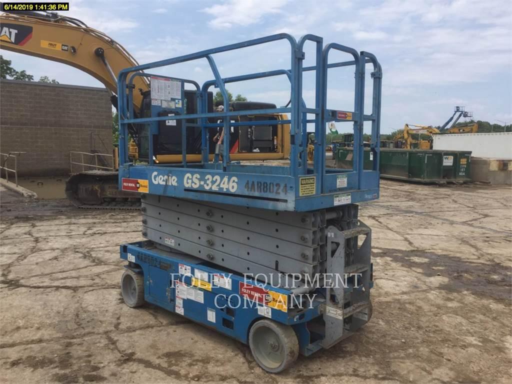 Genie GS3246, cisailles, Équipement De Construction