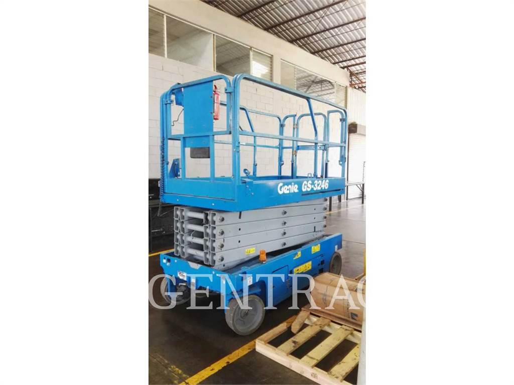 Genie GS3246, lift - scissor, Construction