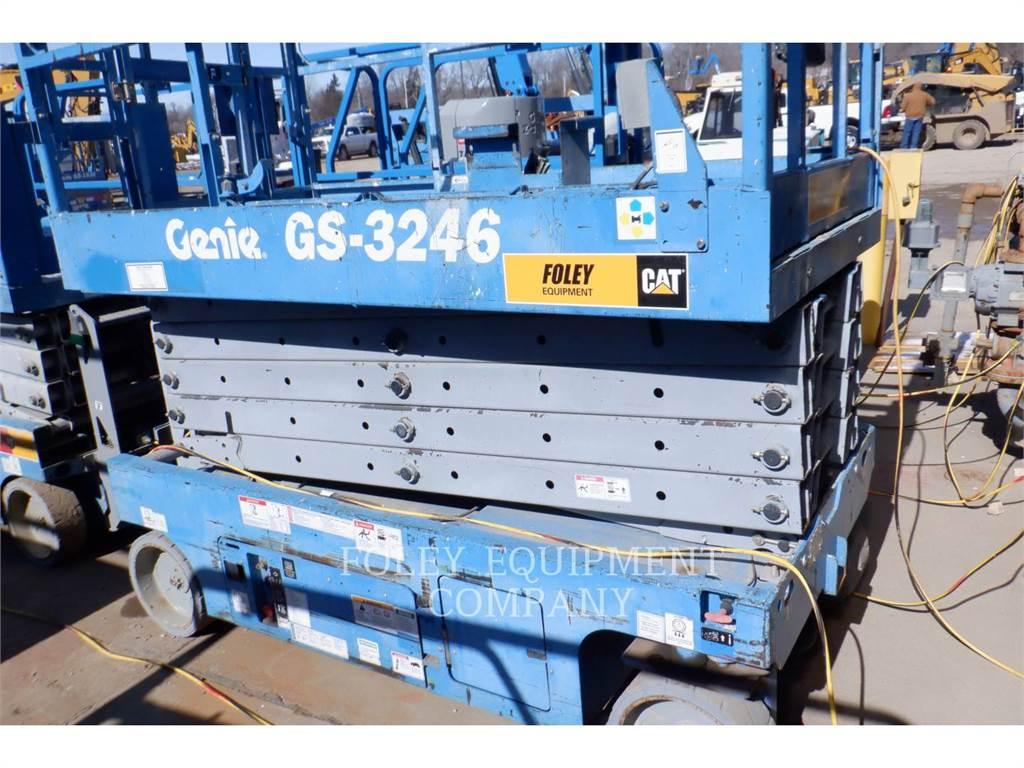Genie GS3246, scheren-hubarbeitsbühne, Bau-Und Bergbauausrüstung