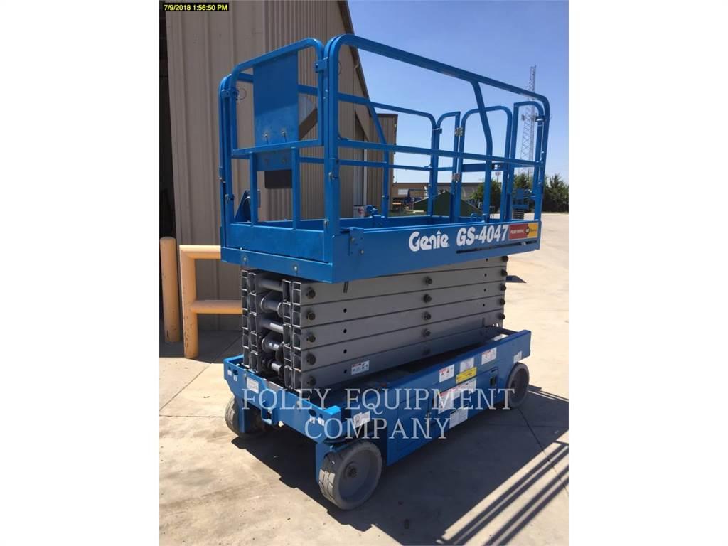 Genie GS4047, lift - scissor, Construction