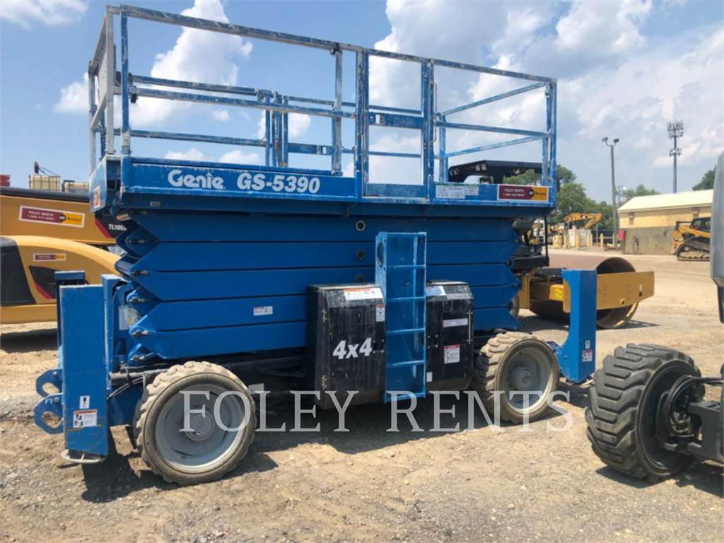 Genie GS5390, lift - scissor, Construction