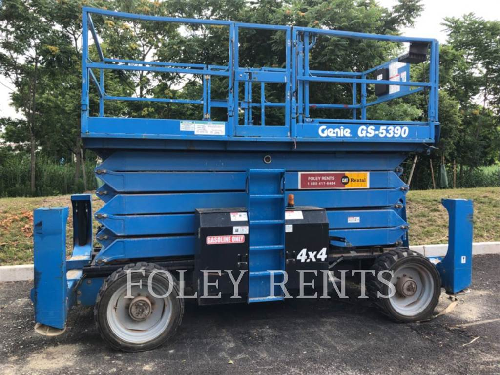 Genie GS5390, lift - scissor, Construction