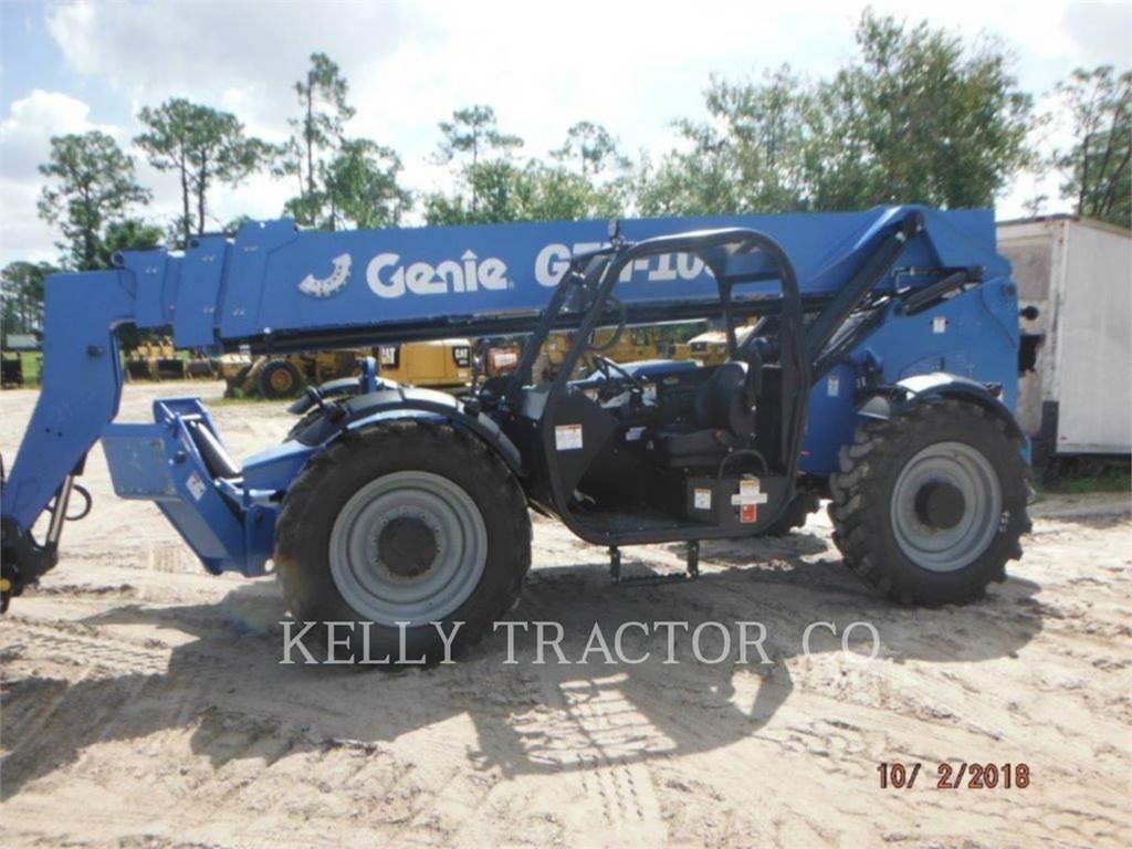 Genie GTH-1056、伸缩臂叉装车|叉装车、建筑设备