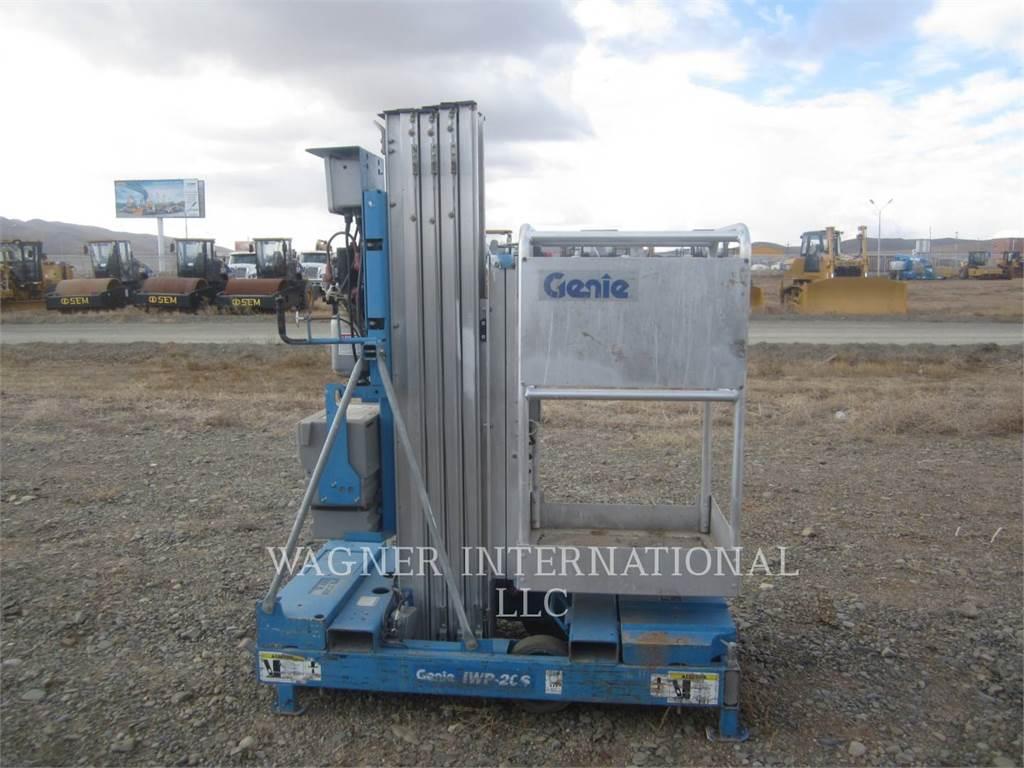 Genie IWP-20S, cisailles, Équipement De Construction