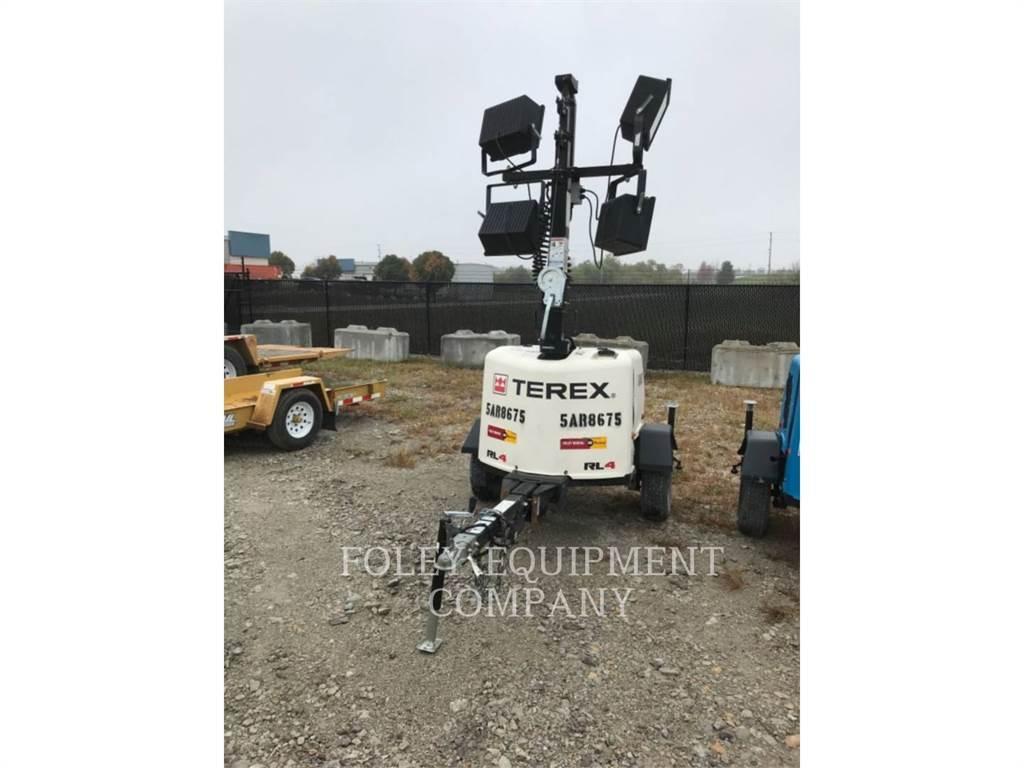 Genie RL4, light tower, Construction