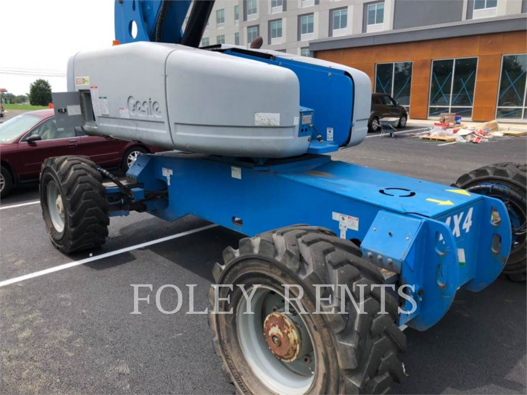 Genie S125, Articulated boom lifts, Construction