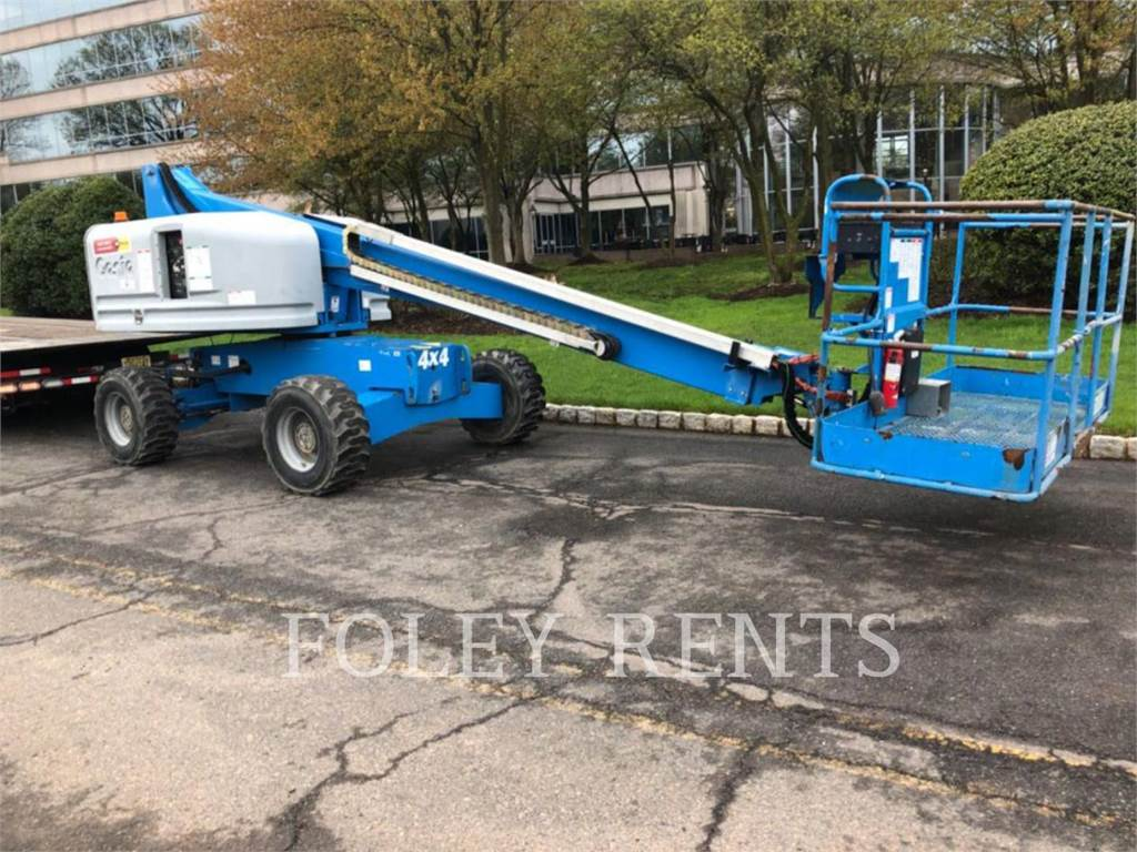 Genie S40, Articulated boom lifts, Construction