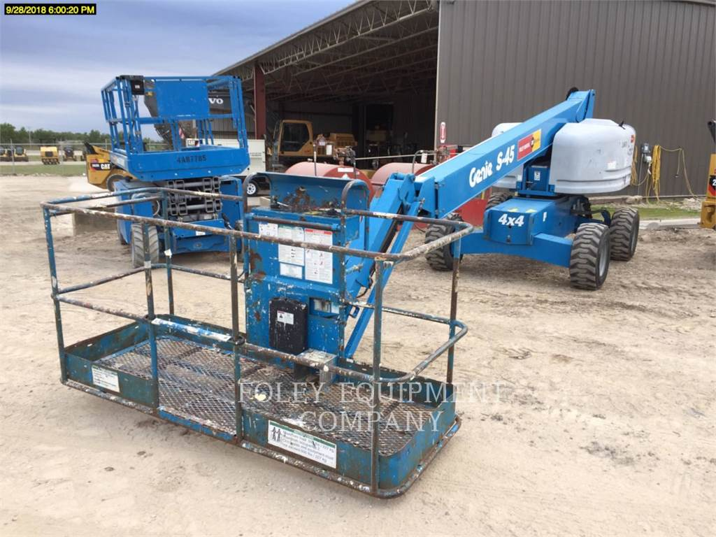 Genie S45D4, Articulated boom lifts, Construction