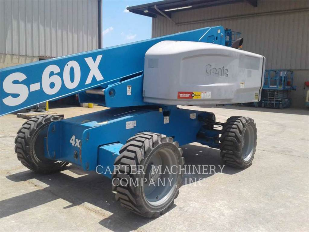 Genie S60X, Коленчатые подъёмники, Строительное