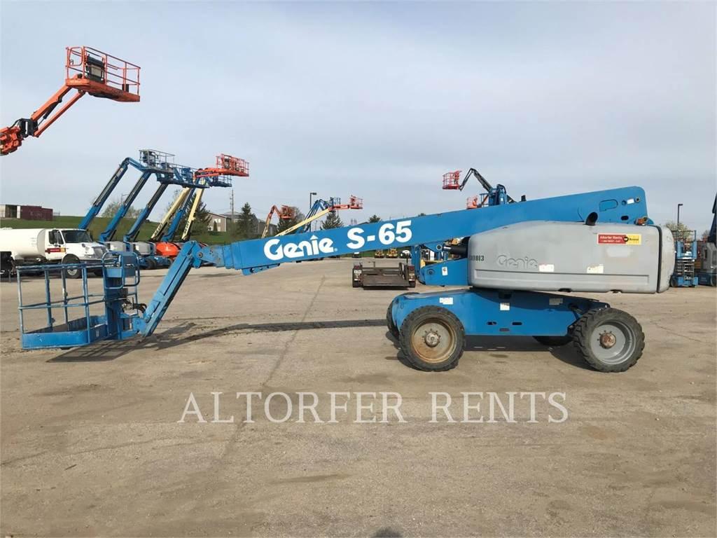 Genie S65, Knikarmhoogwerkers, Bouw
