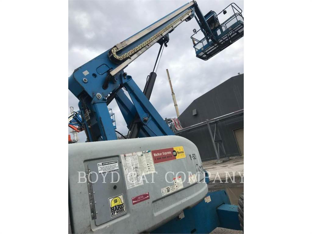 Genie S65RTDIESL G84, Articulated boom lifts, Construction