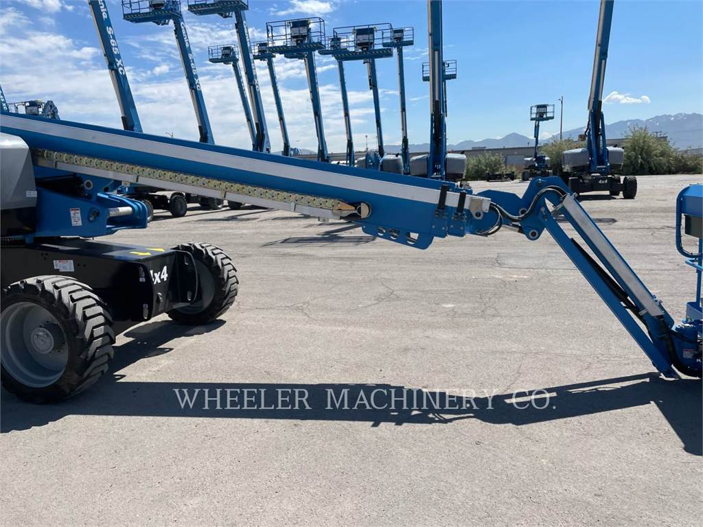 Genie S65XC, Articulated boom lifts, Construction