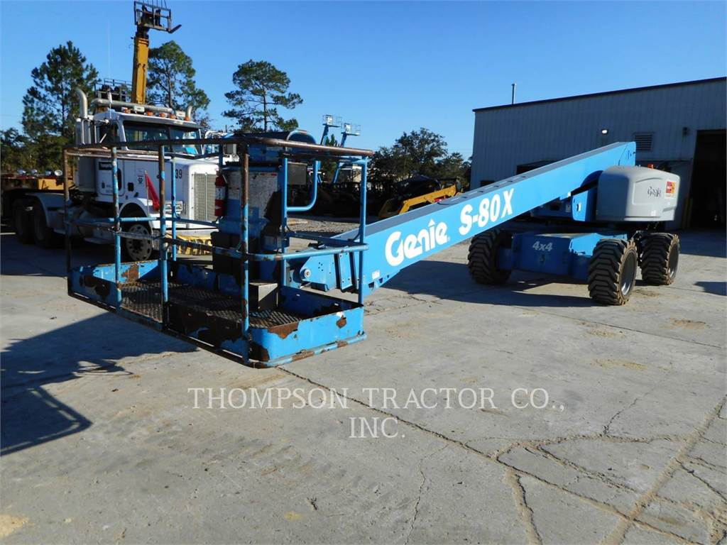 Genie S80, Articulated boom lifts, Construction