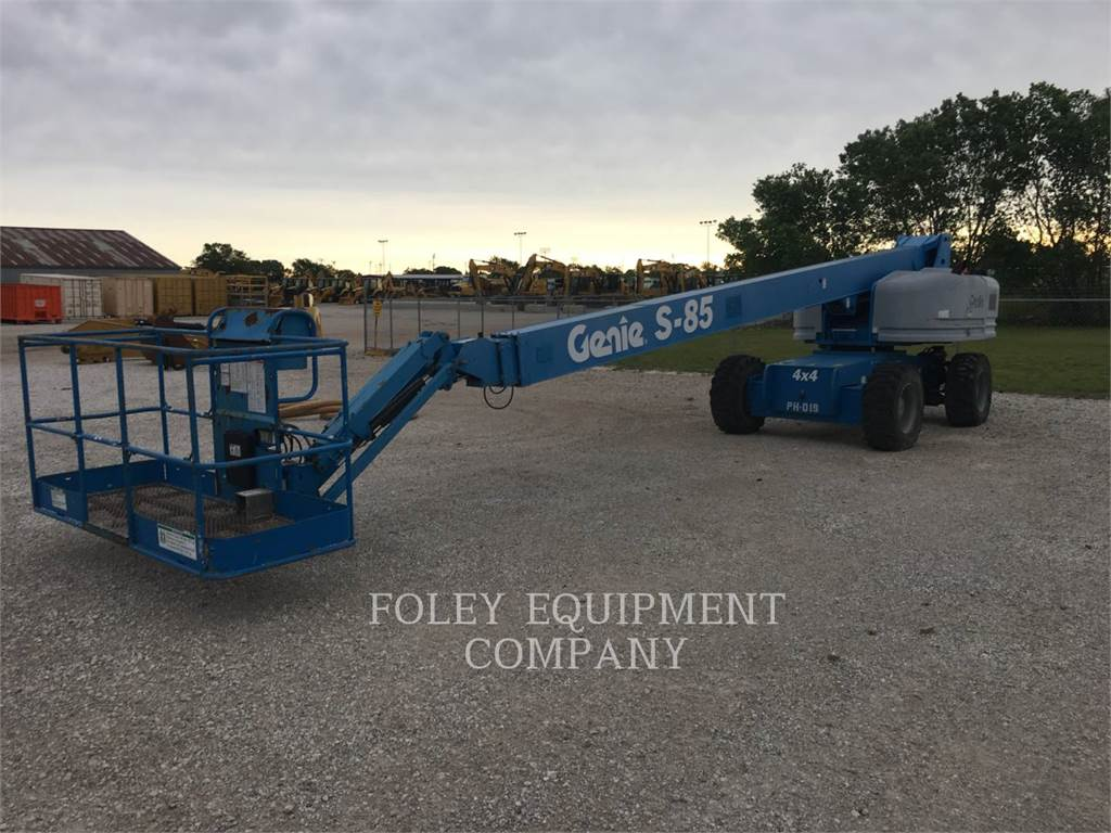 Genie S85D4, Articulated boom lifts, Construction