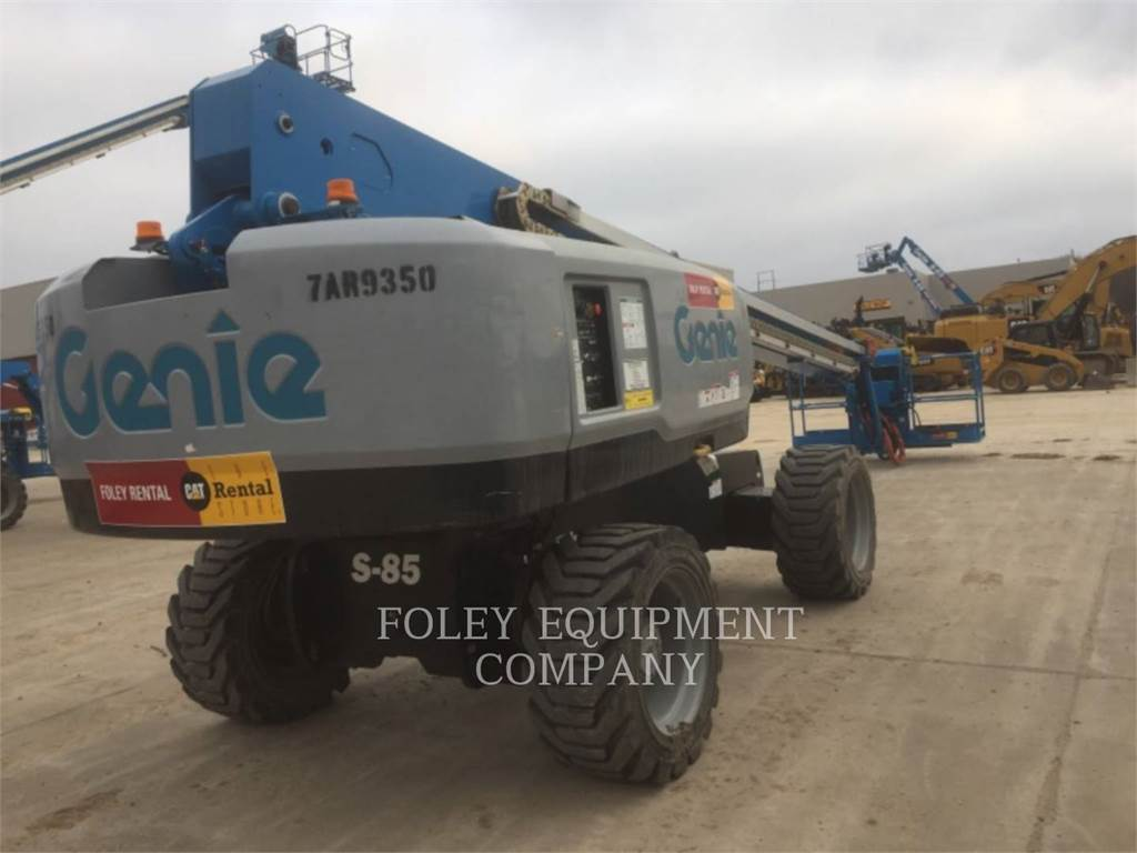 Genie S85D4W, Articulated boom lifts, Construction