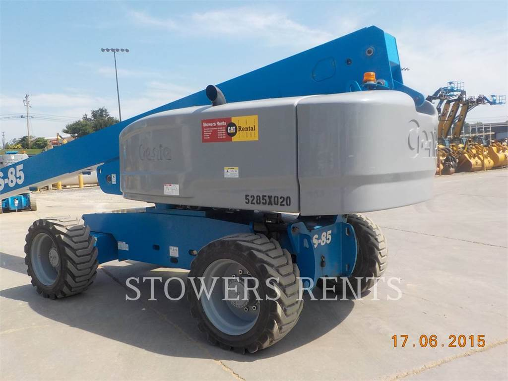 Genie S85DX, Articulated boom lifts, Construction